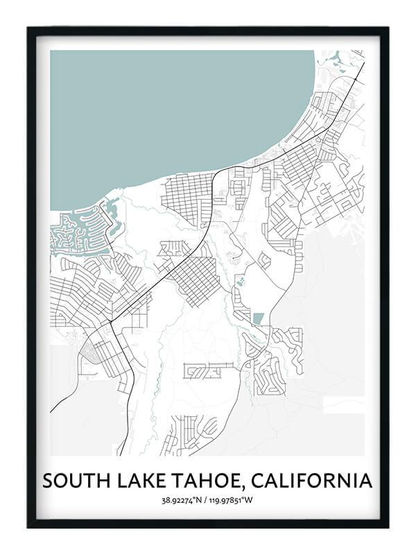 South Lake Tahoe poster