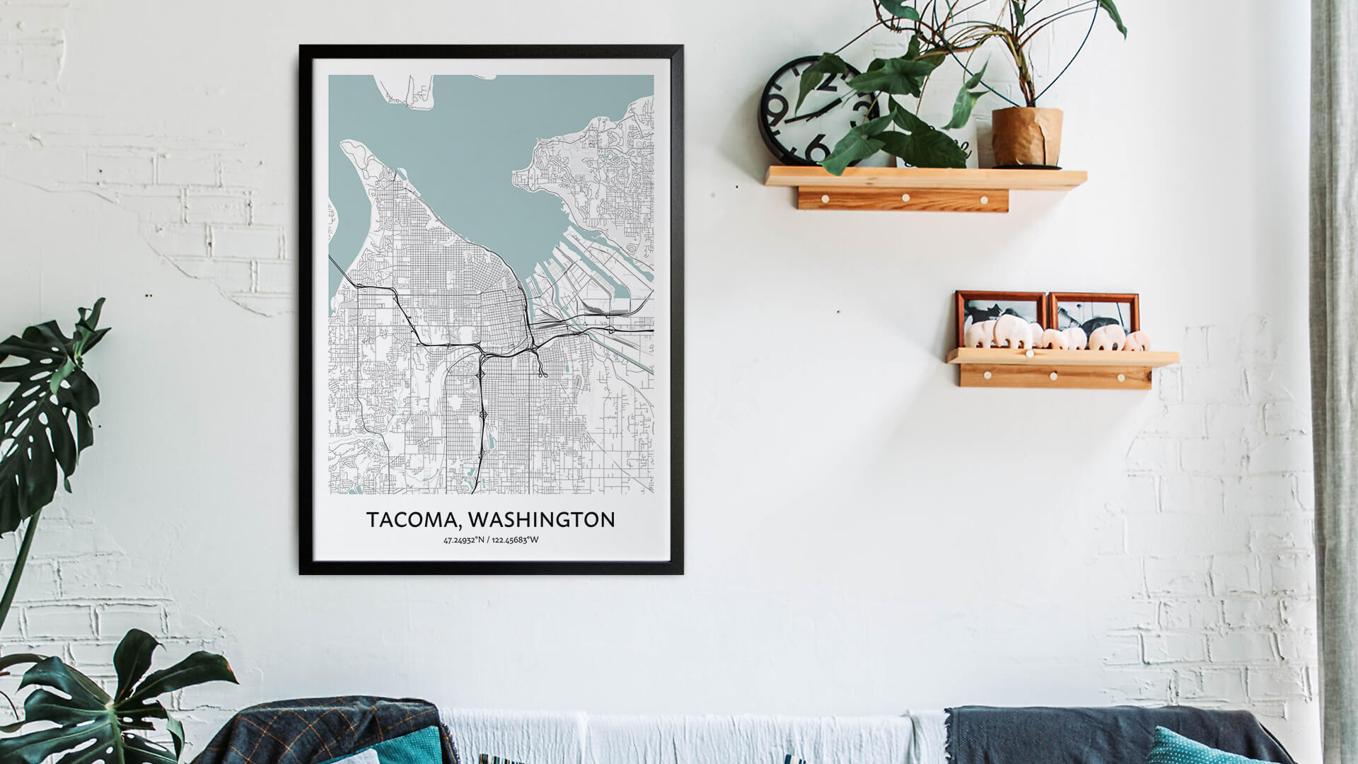 Tacoma map art