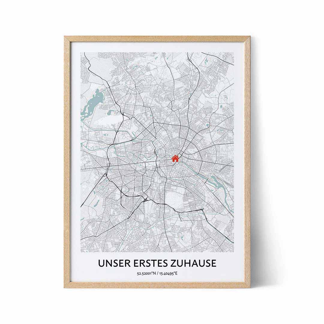 Unser erstes Zuhause Karte