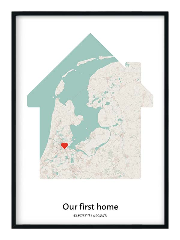 our first home map