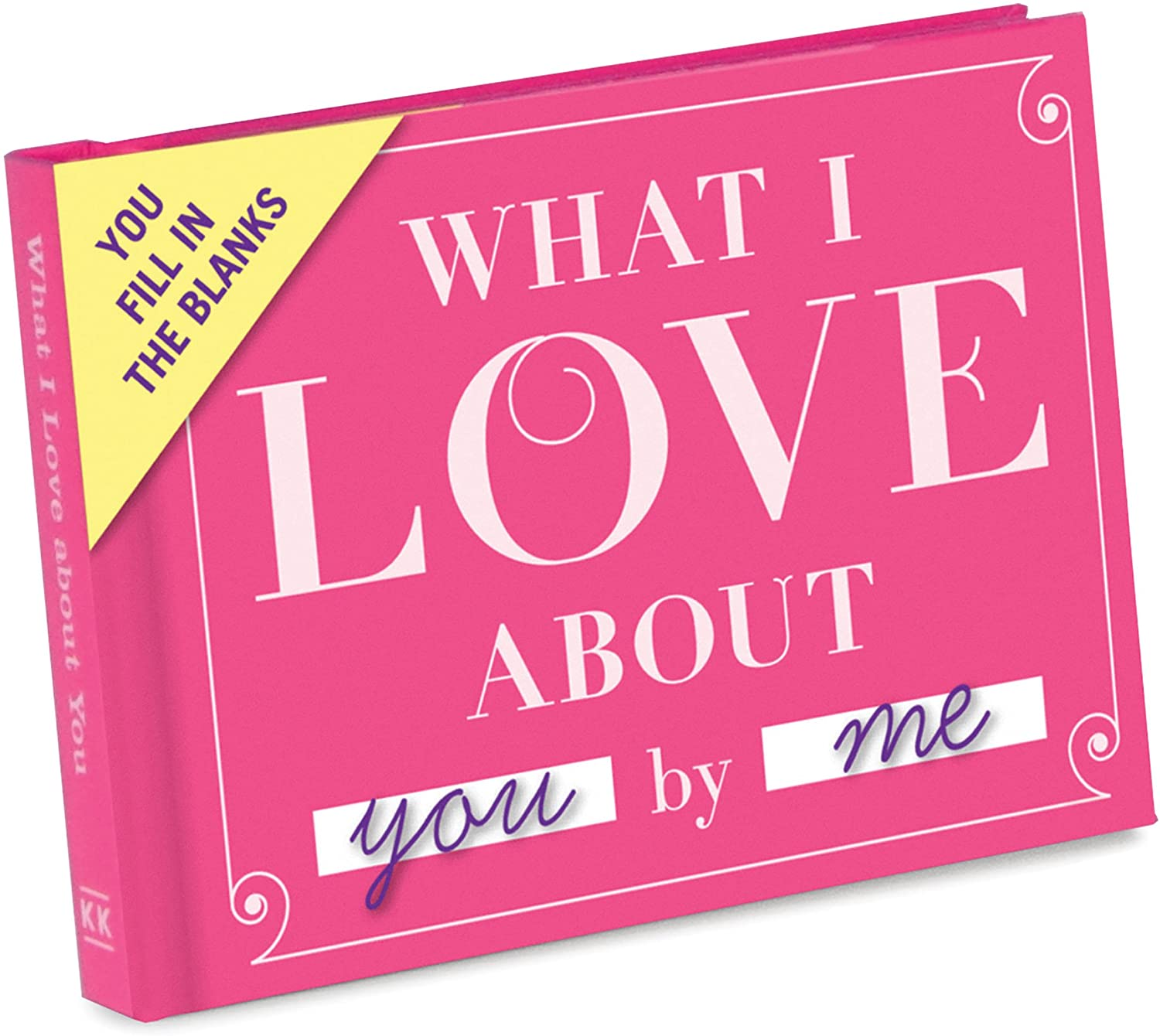 What I Love About You Fill in the Love Book