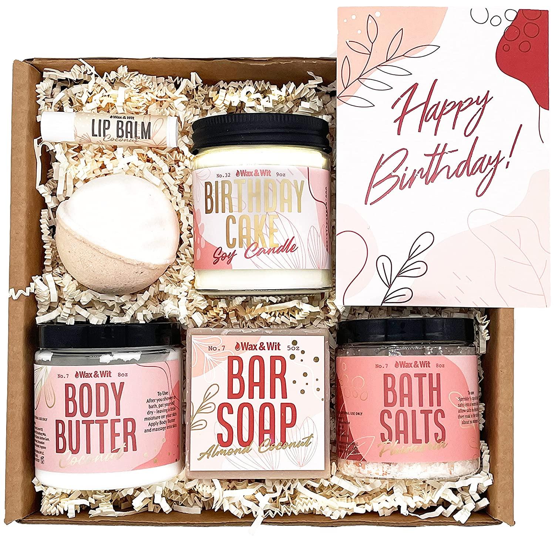 Spa Set Birthday Box