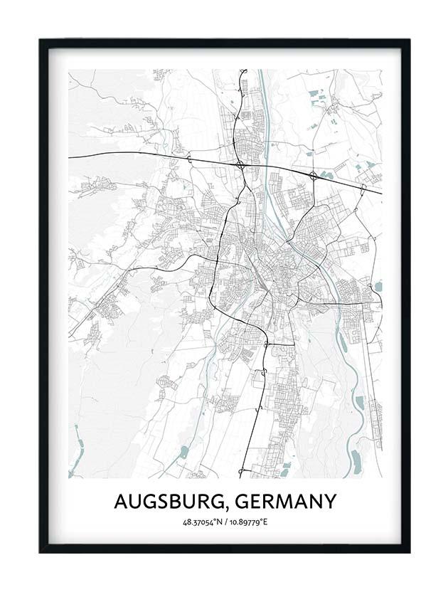 Augsburg poster