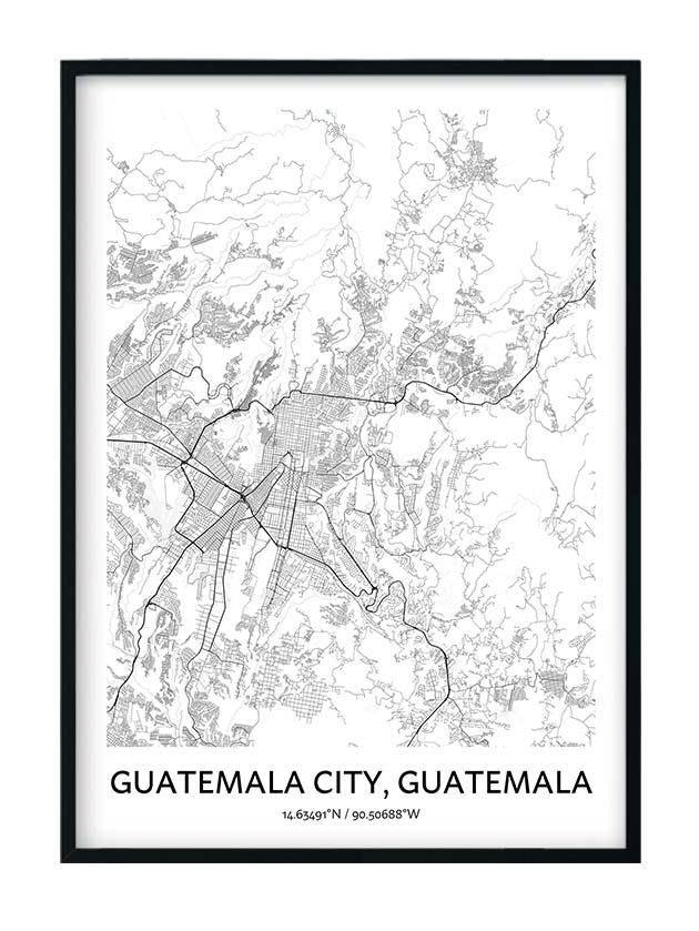 Guatemala City poster