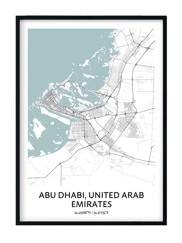 Abu Dhabi poster