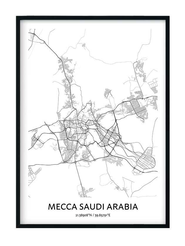 Mecca poster