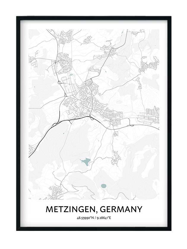 Metzingen poster
