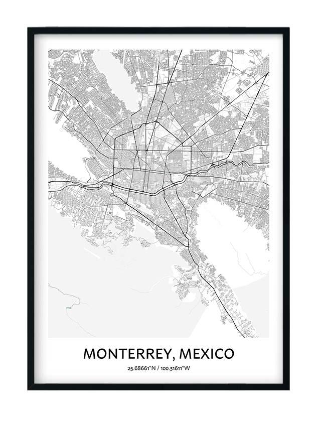 Monterrey poster