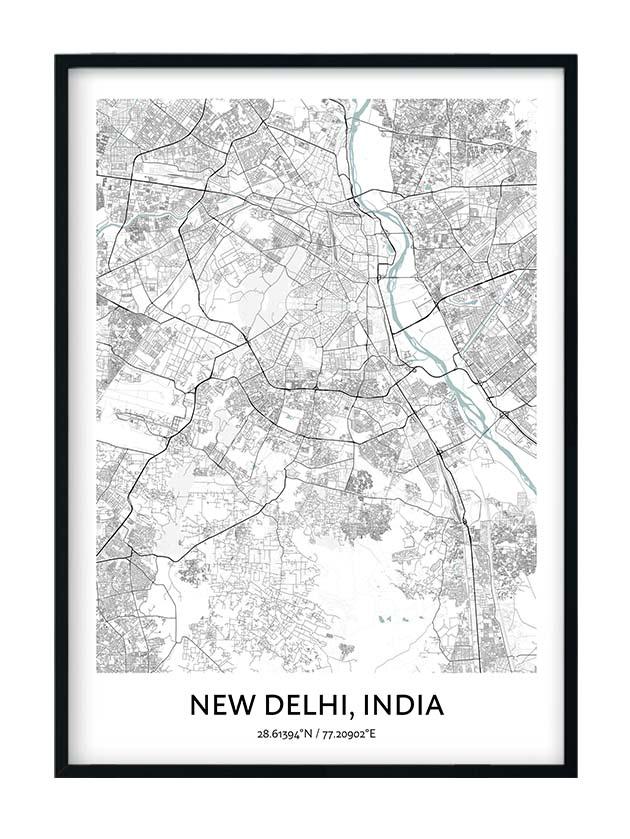 New Delhi poster