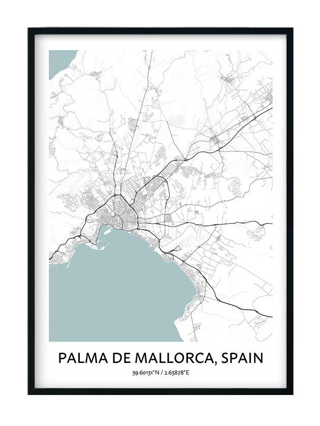 Palma de Mallorca poster