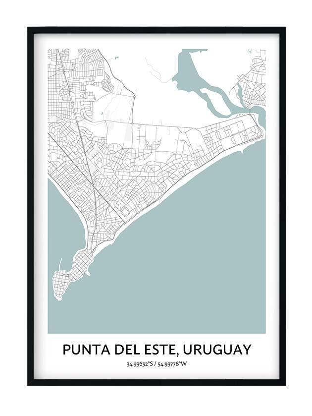 Punta del este poster