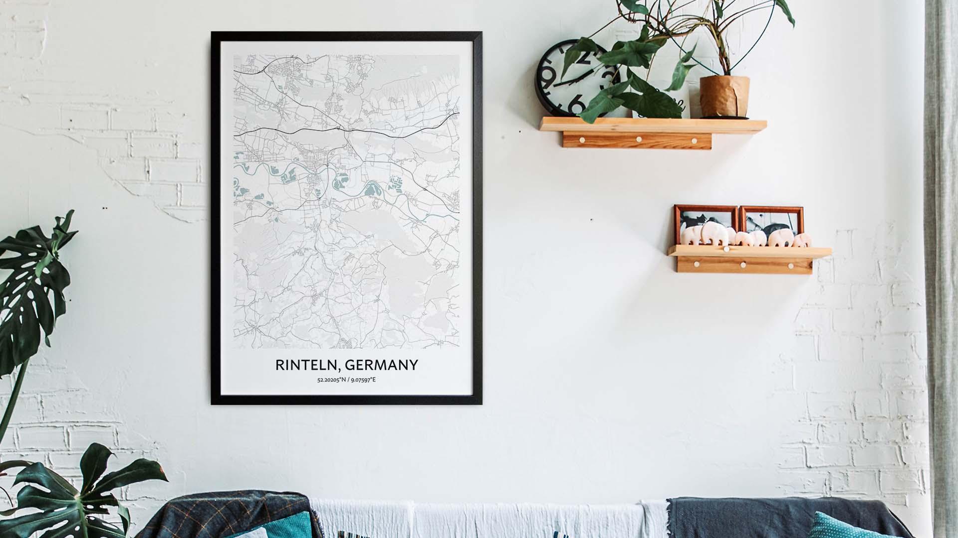 Rinteln map art