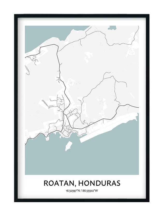Roatan poster