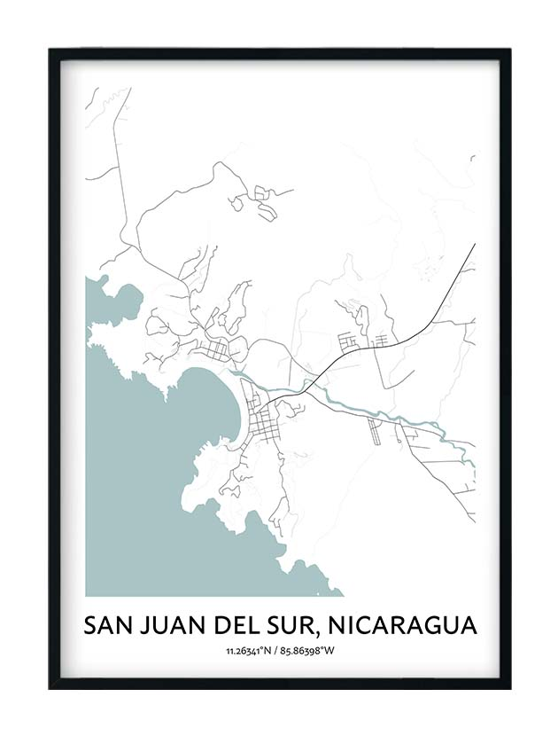 San Juan Del Sur poster