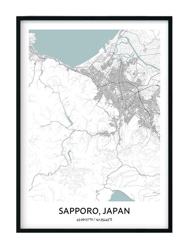 Sapporo poster