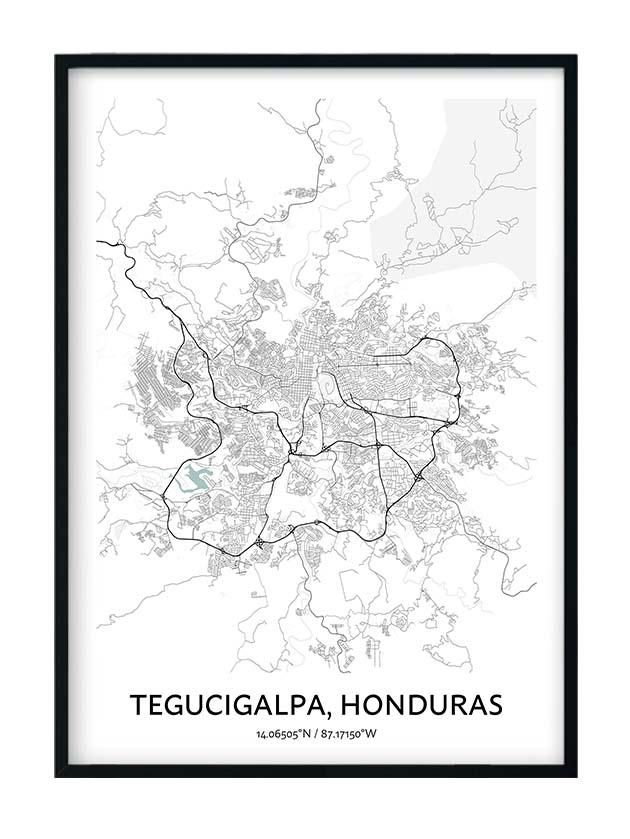 Tegucigalpa poster