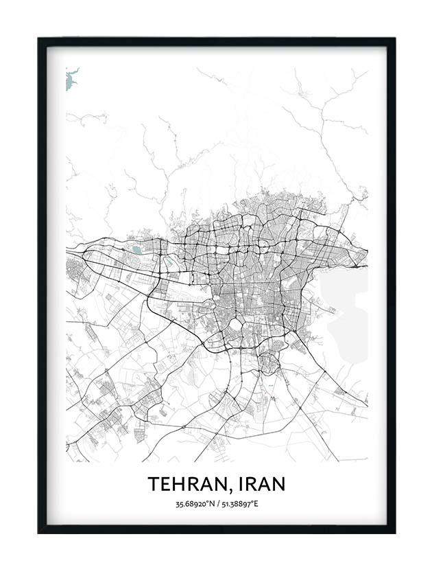 Tehran poster