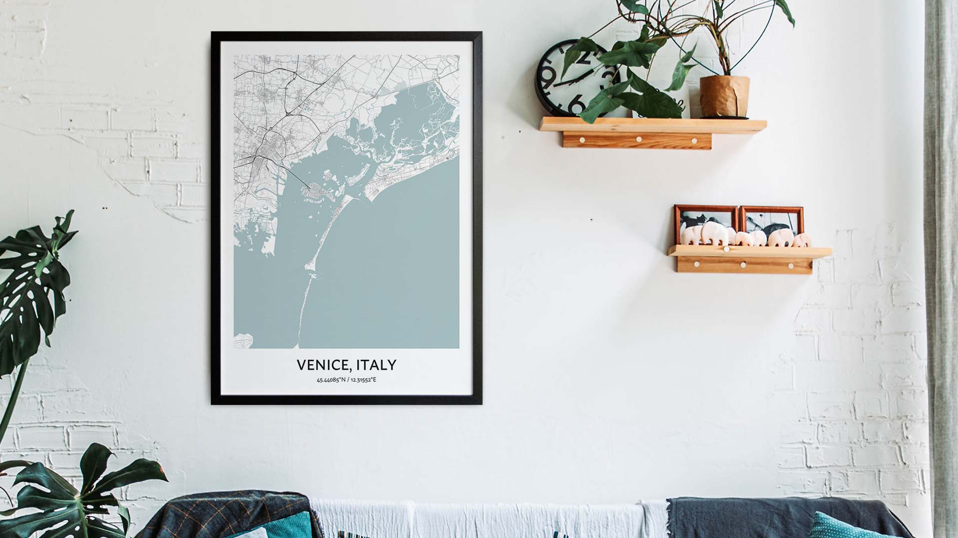 Venice map art