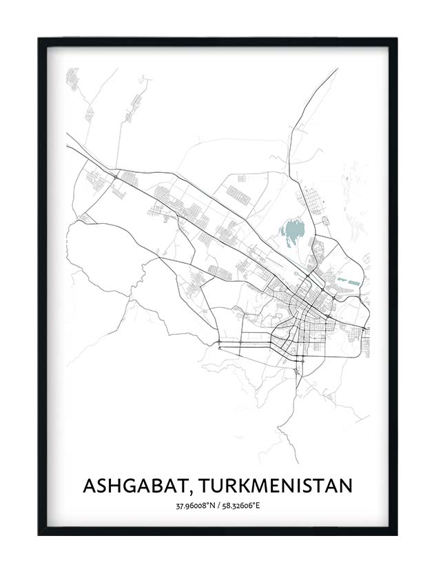 Ashgabat poster