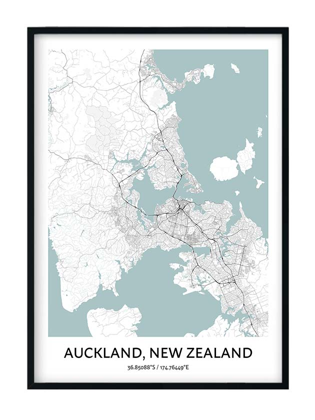 Auckland poster