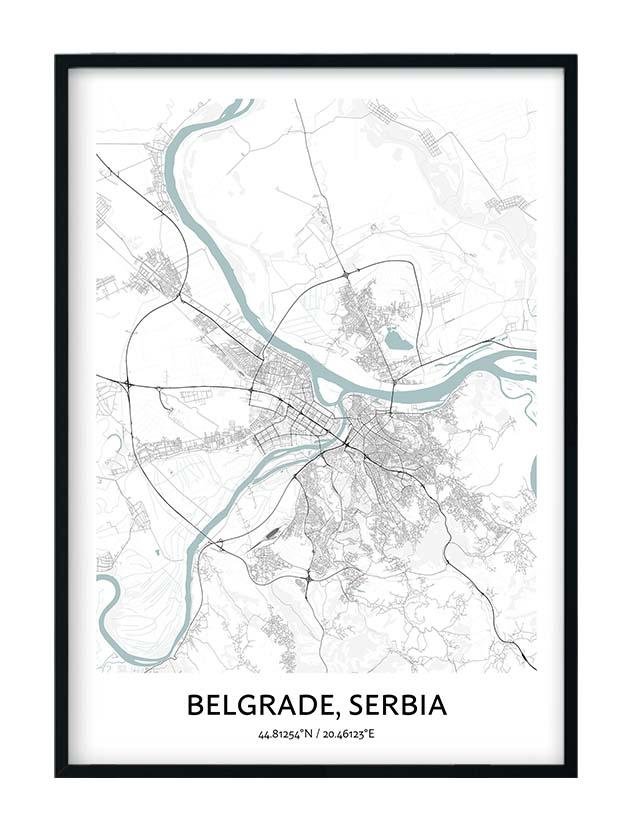 Belgrade poster