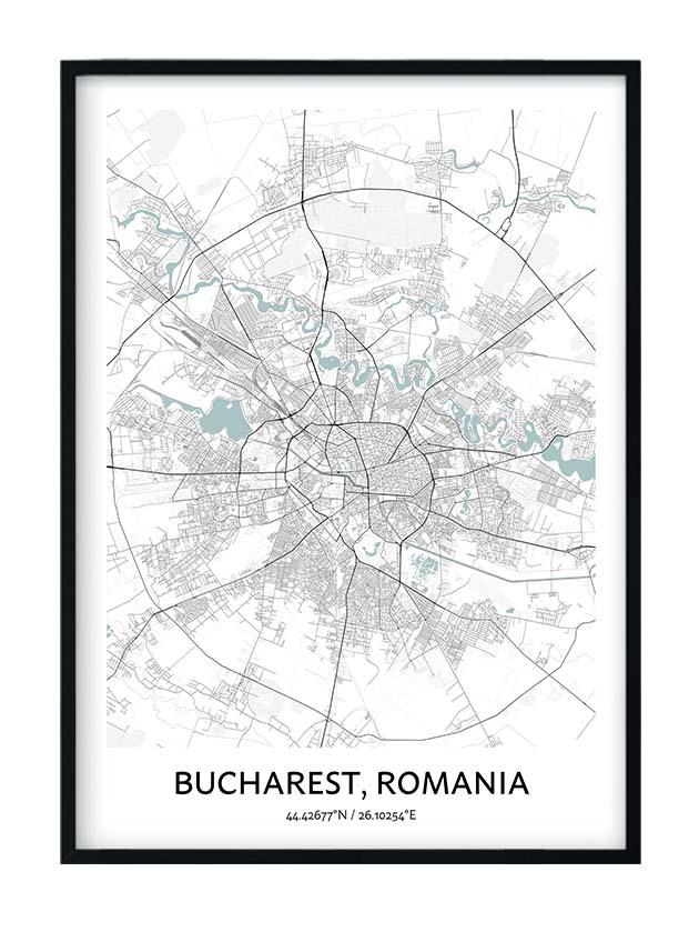 Bucharest poster