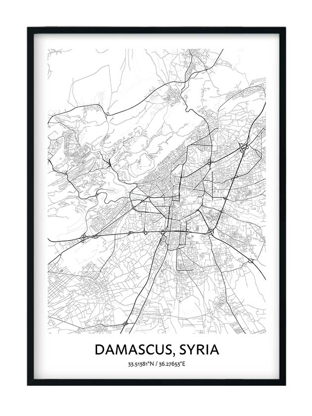 Damascus poster