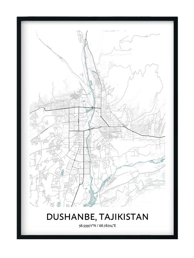 Dushanbe poster