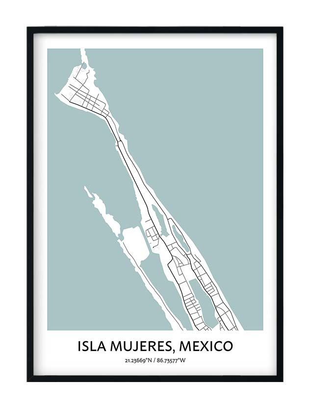 Isla Mujeres poster