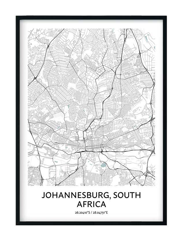 Johannesburg poster