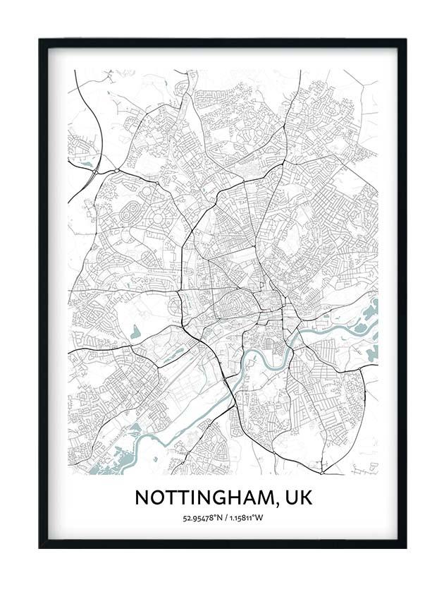 Nottingham poster